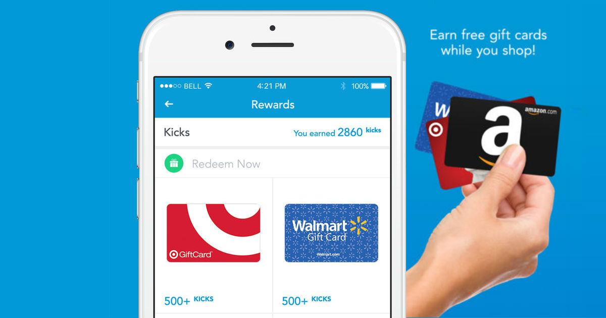 Earn Gift Cards with You Check In with the ShopKick App