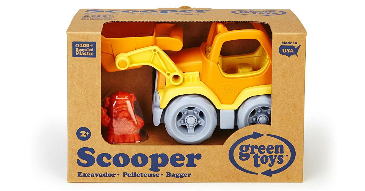 Green Toys Scooper Construction Truck ONLY $8.49 (Reg. $17)