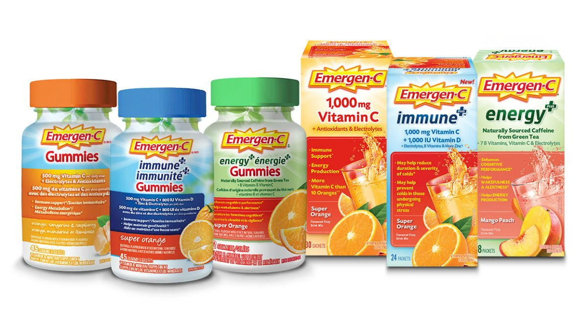 Emergen-C - New Printable Coupons
