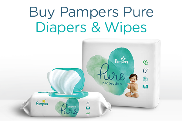 Pampers Pure Protection Diapers - Great Deals
