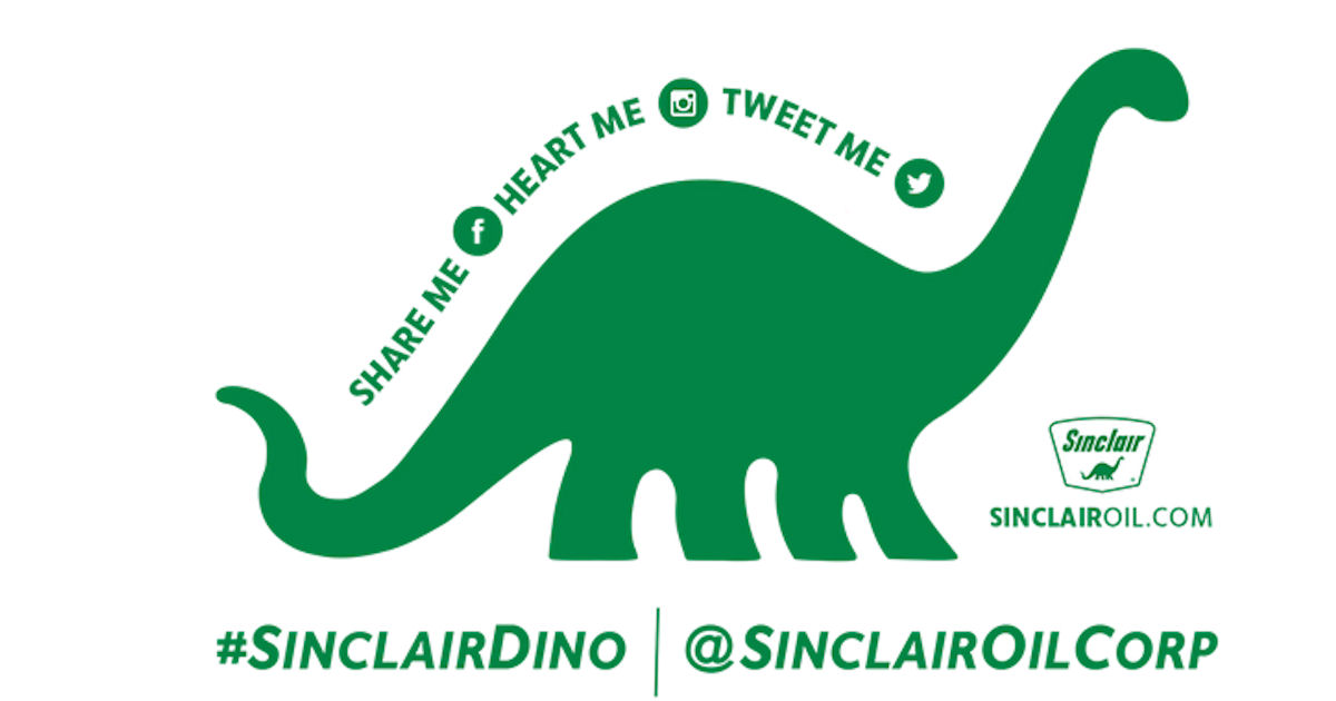 Free Sinclair Dino Sticker