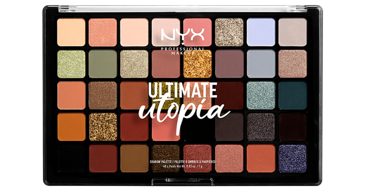 NYX Ultimate Utopia Shadow Palette ONLY $22.75 at Ulta (Reg $35)
